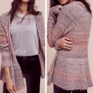 Knitted & Knotted | Mohair Open Front Cardigan